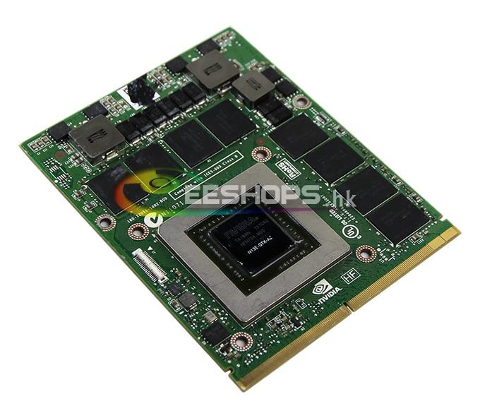 Best NVIDIA GeForce GTX 680M GTX680M GDDR5 2GB Video Graphics VGA Card for Dell Alienware M17X M18X R1 R2 R3 R4 Gaming Laptop