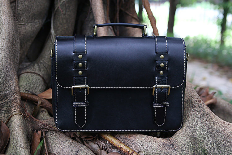 Free Shipping,Brand 100% genuine leather bag.men's vintage briefcase.style cowhide man handbag.sales.business casual free shipping classics brand cow leather clothing man s 100