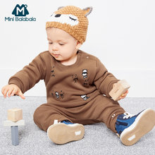 Newborn Christmas Clothes 2018 Winter Baby Boys Clothes Outfits Suit Kids Baby Girls Costumes Set Infant Clothing 3 6 9 12 Month(China)