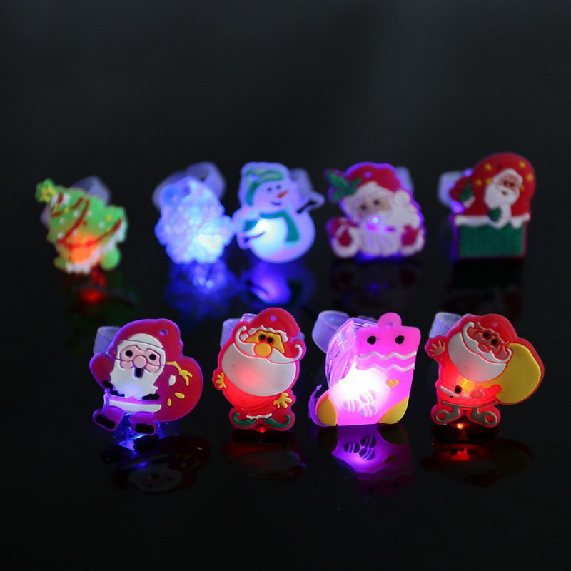 Kinder Cartoon LED Blinklicht Bis Glowing Fingerring Elektronische ...