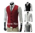 2015 Free shipping New winter Men's pocket zipper decoration business casual waistcoat of cultivate one's morality
