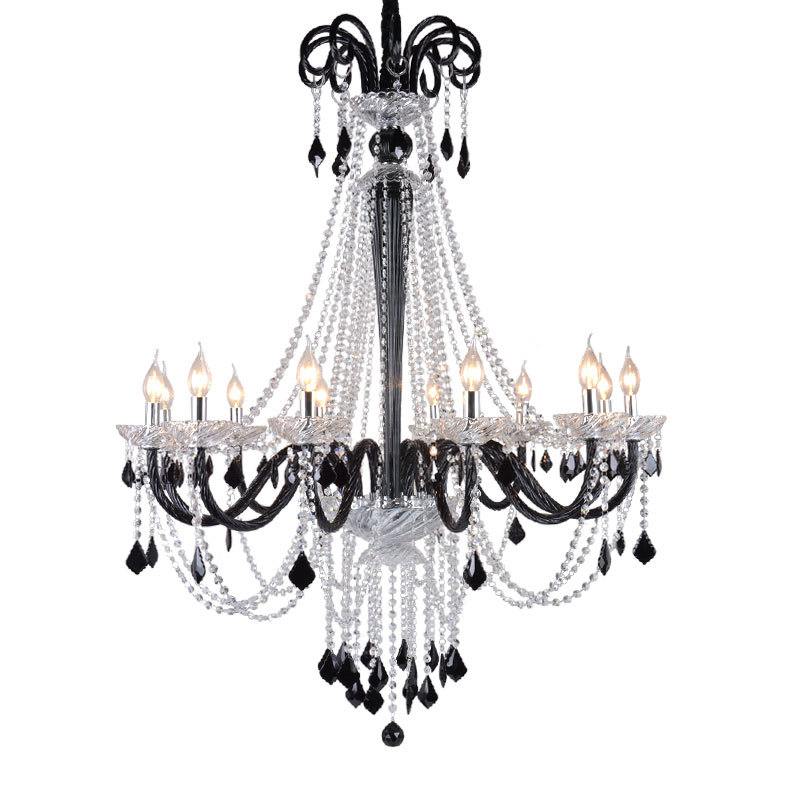 Modern Large Crystal Chandeliers For