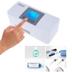 Draagbare Insuline Cooler Travel Case Koude Geneeskunde Opbergtas Koelbox Oplaadbare Mini Koelkast Voor Diabetische Orgel
