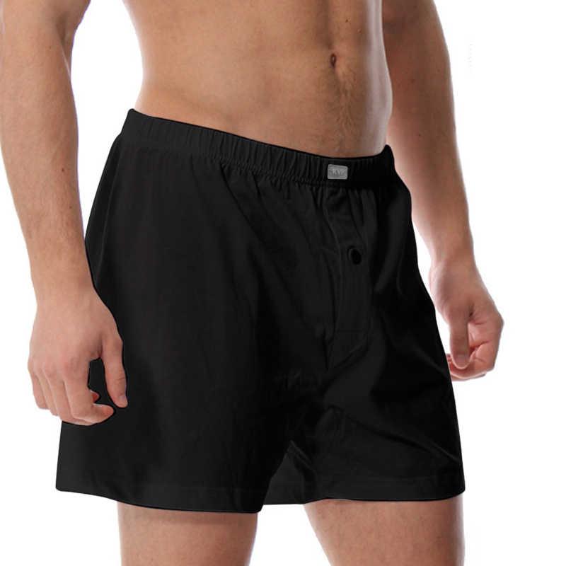5c0b820b0d7d ... KVF 100% Cotton Mens Underwear Homem Boxers Shorts Male High Quality  Loose Trunk Comfortable Home ...
