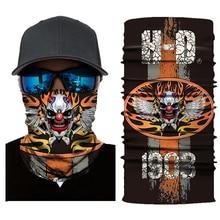 NEW Motorcycle Mask Biker Face Shield Sun Balaclava Halloween Scarf Kominiarka Ghost Moto Cagoule Visage Masquerade