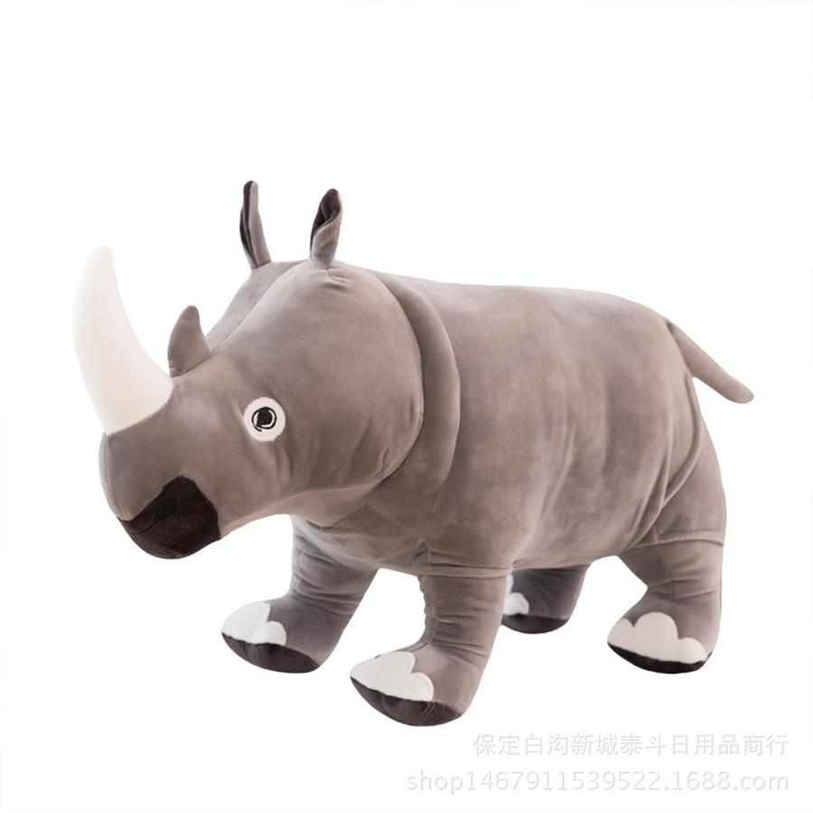 Woolly Rhinoceros Figure Animal Toy Coelodonta Rhino Model Collector Kids Gift