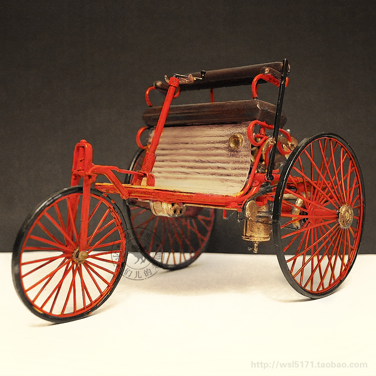 1886 World First Vintage Style Benz Car Tricycle Model Hand made ...