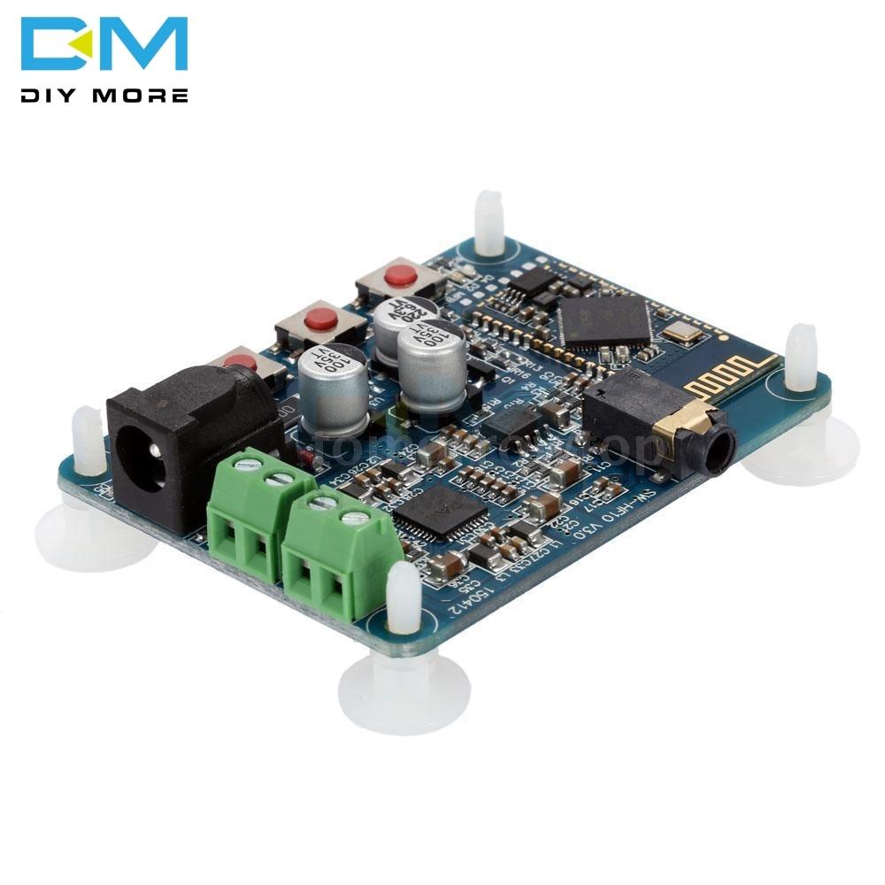 DC 12V Bluetooth 4.0 PAM8610 Audio Receiver Stereo Amplifier Board 10W+10W 2X10W Module BoardDC 12V Bluetooth 4.0 PAM8610 Audio Receiver Stereo Amplifier Board 10W+10W 2X10W Module Board