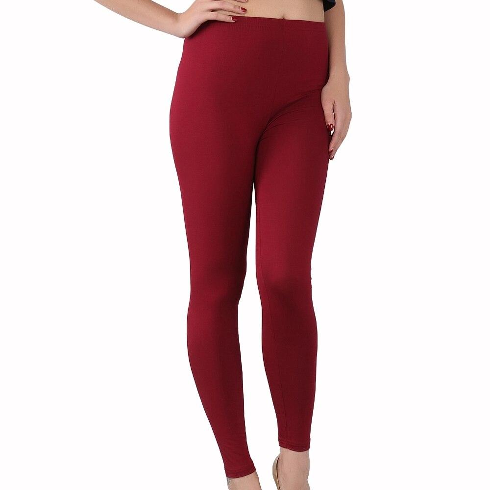 New Arrival Fashion Casual bamboo fiber high elastic leggings plus size 7XL Women's pants