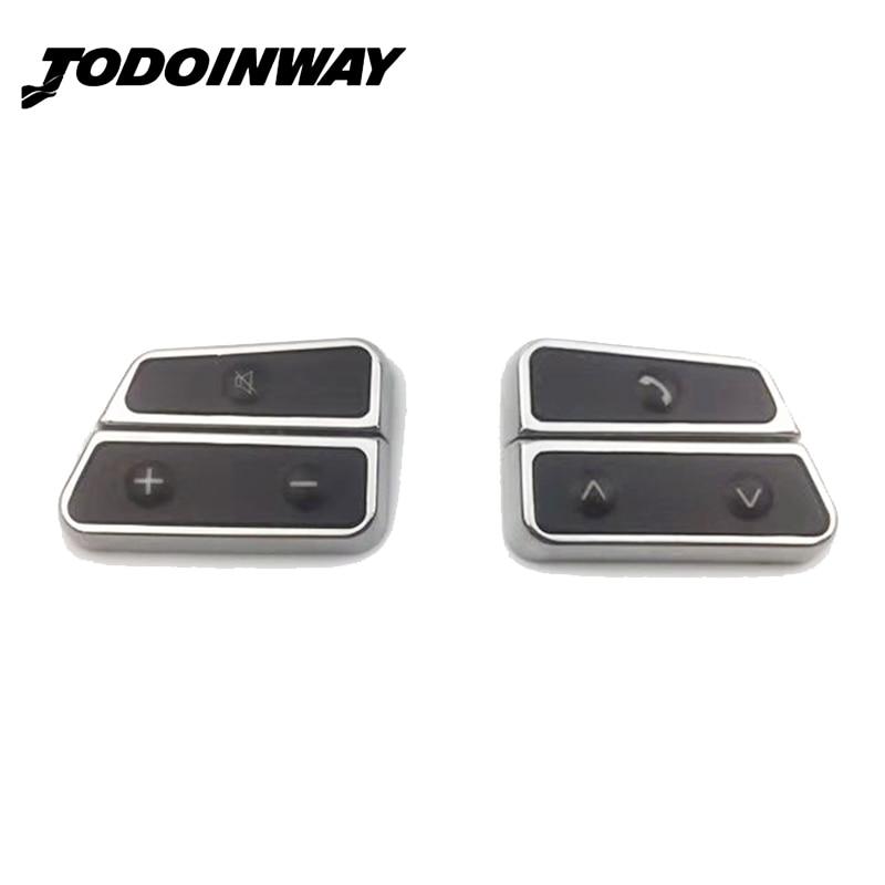 Commande au volant multifonction bouton de commutation interrupteur de volume audio pour VW Golf 7 Jetta 5 6 MK5 MK6 pour Skoda Octavia Fabia