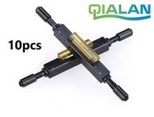Fiber Optic Quick Connector L925B  wholesale Optical Fiber Mechanical Splice for Drop Cable Ftth Connectors tangda connectors pf 2d103 amp1123445 1 mr j3bcn1 2p 1123445 1 fiber optic connector mr j3bus fiber plug