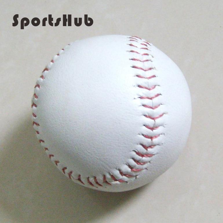 "Useful Sportshub Perimeter 23cm Dia 2.75"" Practice Training Baseball Leather Hardball Pu Base Ball Cs0010 Let Our Commodities Go To The World"