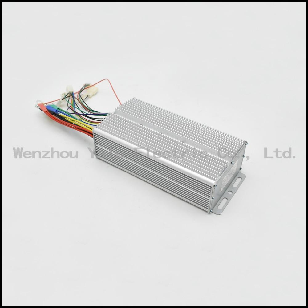 Kontrollues inteligjent pa furça për tub 1000W 48V 60V 24Power për - Çiklizmit - Foto 2
