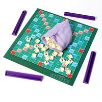 The Most Popular Word Game English Scrabble Crossword Board Spelling Game Children S Education Table Jigsaw