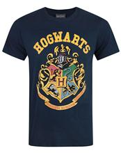 2017 Hot Sales Official Harry Potter Hogwarts Crest Design Printed T Shirt Cute Tee Shirts Hipster O-Neck Cool Tops(China (Mainland))