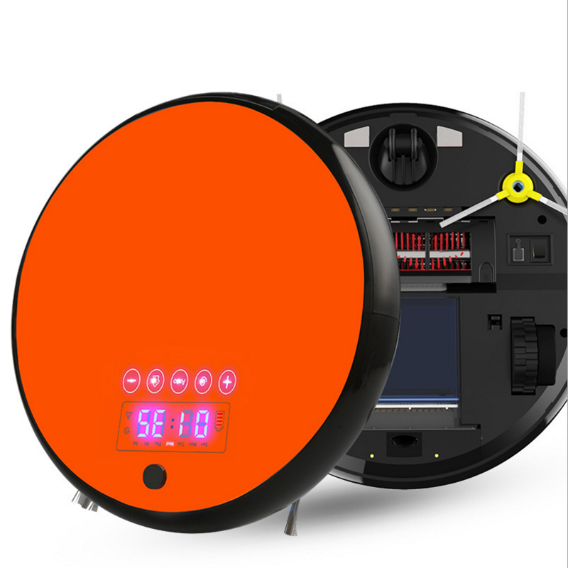 Smart Robot Vacuum Cleaner for Home Dry Wet Water Tank brushless motor Intelligent Cleaning Robot цена и фото
