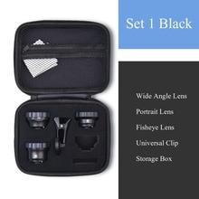 SIRUI Mobile Lens External high-definition SLR mirror set universal cellphone lens Macro portrait lens wide-angle fisheye lens стоимость