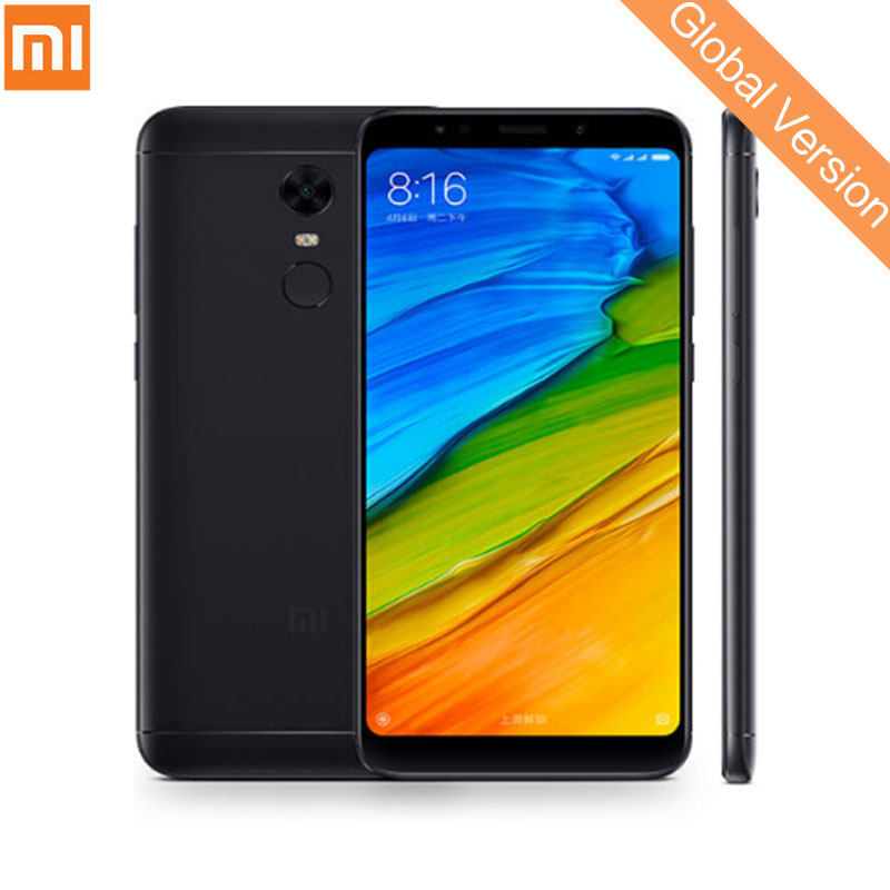 В наличии Глобальный Версия Xiaomi Redmi 5 плюс 3 ГБ 32 ГБ 5,99 полный Экран Дисплей смартфон 625 Octa Core 4000 мАч b20