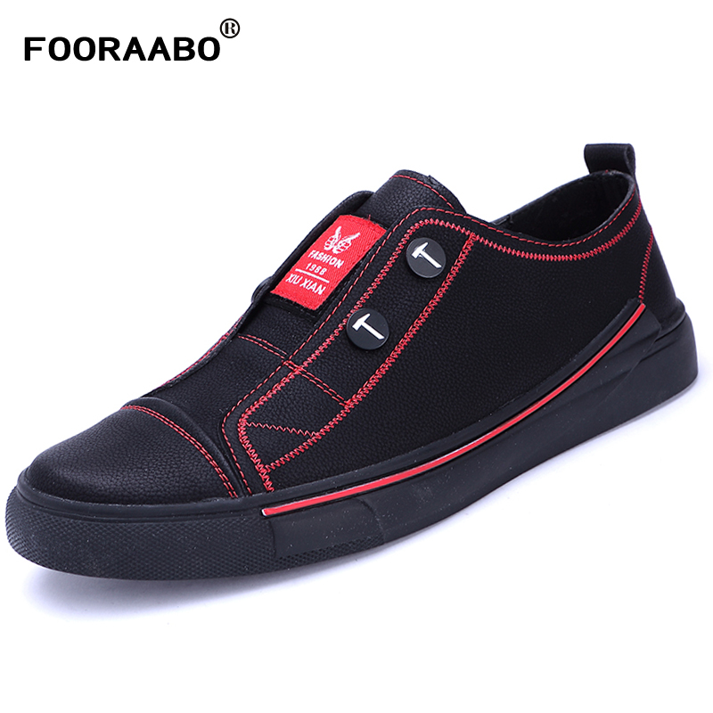 2018 Designer Version Luxury Brand Casual Shoes Men Slip On Loafers Male Sneakers Tenis Masculino Man Leather Shoes Flats men cow split leather shoes casual loafers soft and comfortable oxfords non slip flats luxury brand designer shoe zapatos hombre