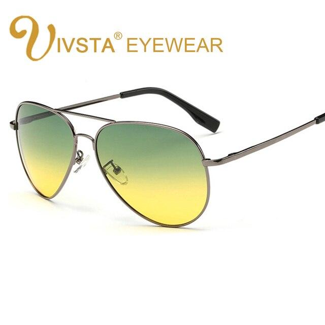 5612b068cd IVSTA Men Polarized Sunglasses Brand Designer Lower Price Super Man Pilot Polaroid  Eyewear Nnight Glasses day