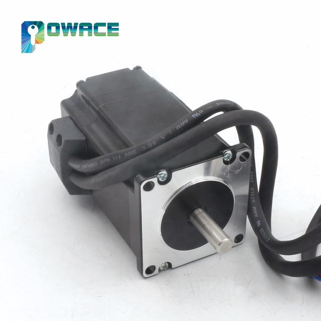[EU/USA/RU Stock]  2N.m Nema23 76mm Closed Loop Servo Motor 3A & Hybrid Step-servo Driver Controller 6A