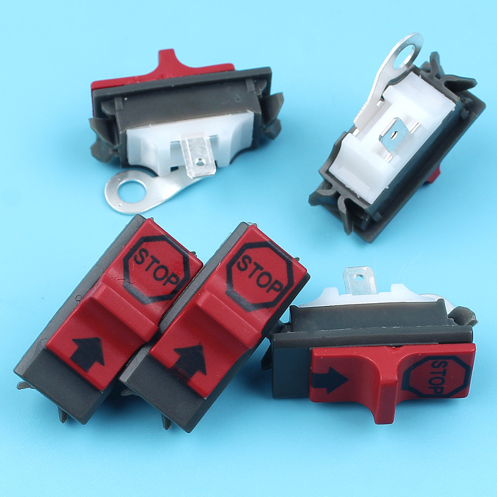 5 X ON-OFF Kill Stop Switch Kit For HUSQVARNA 136 137 141 142 50 51 55 254 257 261 262 268 272 288 Chainsaw