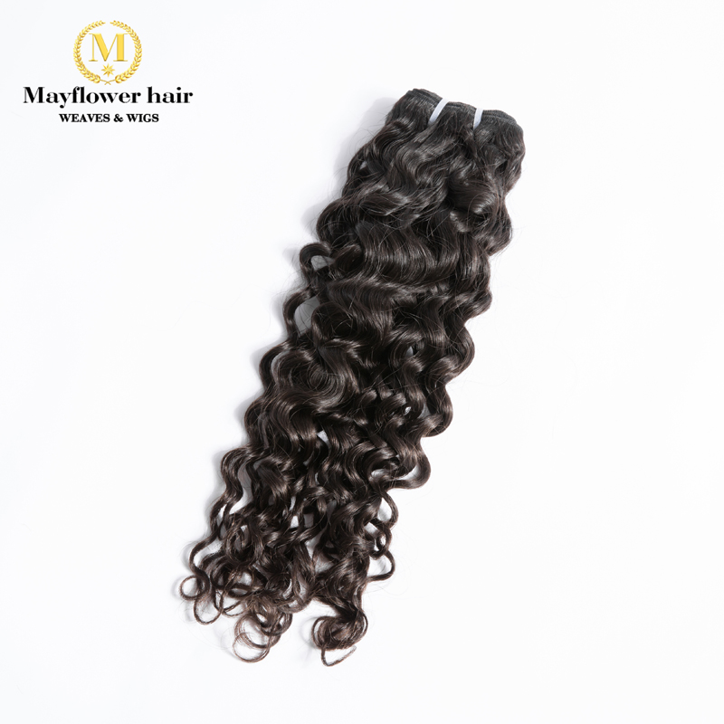 MFH 1/2/3/4 Bundles Raw Virgin Malaysian Hair Italian Curl 100% Unprocessed Natural Color Jerry Curl Full Cuticle Hair 12-26""