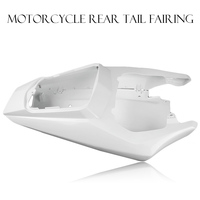 GZYF Durable Motorcycle Tail Rear Fairing For YAMAHA YZF R6 2003 2004 2005 Unpainted White 1PC