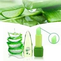 99% Aloe Vera Essence Lips Moistourizer Change Color Lipstick Long Lasting Beauty Batom Lip Makeup Lipstick