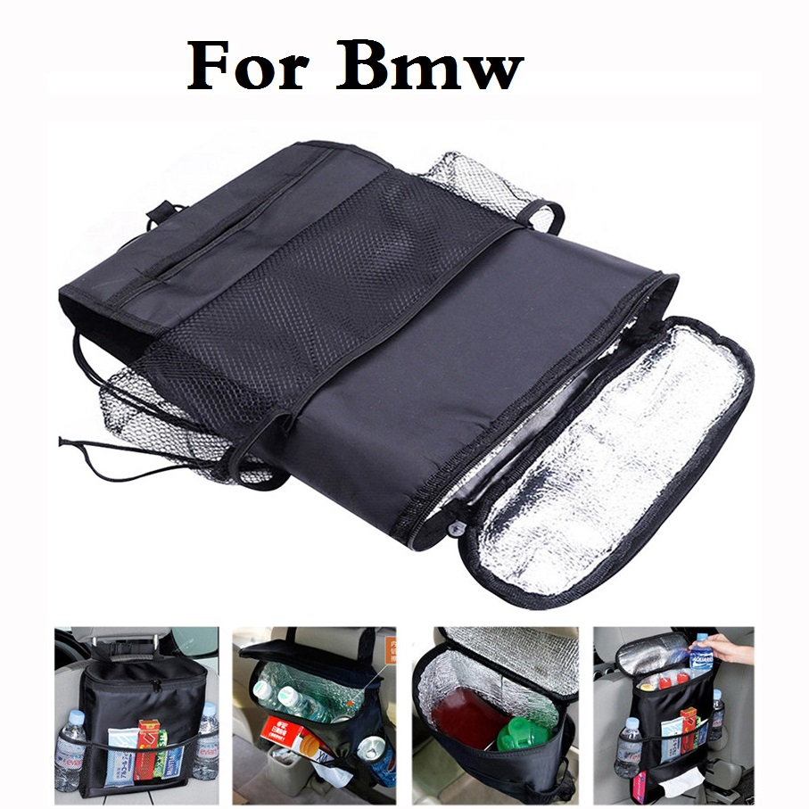 2017 Car Seat Chair Organiser Cooler Bag Multi Pocket For Bmw E36 E38 E39 E46 E52 E53 E60 E61 E63 E90 F30 F10 X3 X5 X6 M 125i