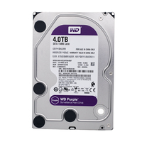 WD фиолетовый 4 ТБ HDD наблюдение жесткий диск 5400 об./мин../класс SATA 6 ГБ/сек. 64 МБ кэш 3,5 для камеры видеонаблюдения AHD DVR IP камера NVR