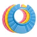 1 PÇS/LOTE Alta Qualidade Bebê Criança Touca de banho Ajustável Macio chapéu Proteger O bebê de Shampoo Shampoo Banho De Água para As Crianças Do Bebê Cap