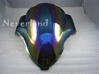 Hot Sale Motorcycle Double Bubble Windscreen Windshield For Suzuki Hayabusa GSXR 1300 1999 2007 Iridium Wholesale