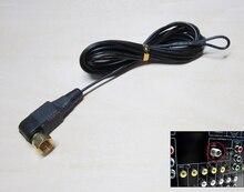 """3 metrów pozłacane śruby FM anten wewnętrznych mężczyzna """"F"""" złącze 75 Ohm anteny nadaje się do radia odbiornik wzmacniacz audio"""