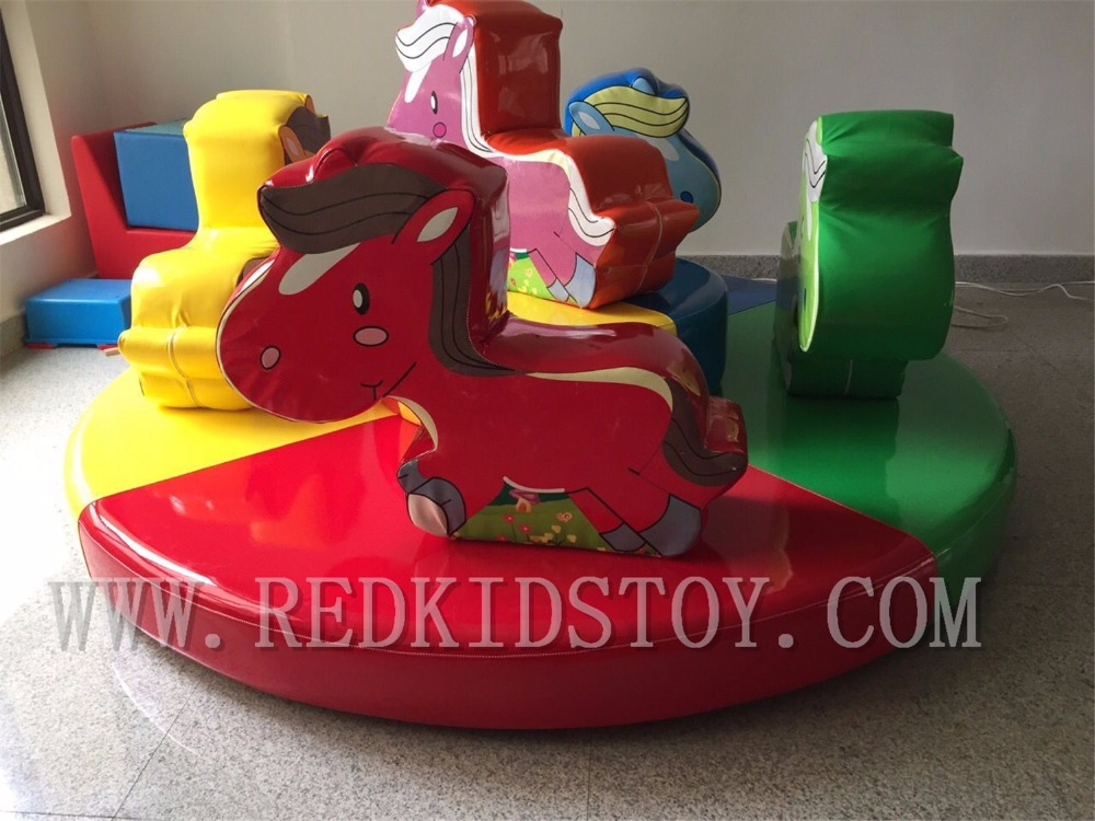 Electric Carousel for Indoor Playground CE Approved Merry Go Round for Kids HZ-7905AElectric Carousel for Indoor Playground CE Approved Merry Go Round for Kids HZ-7905A