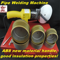 Grade A Plumber tools 75 110mm AC 220/110V 1200W Fuser Plastic Pipe Butt Welding Machine PPR pipe welding machine plastic welder