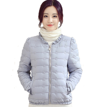 Nice Winter Women Warm Jacket Slim Zipper Female Coat Autumn Spring Ladies Overcoat New Short Parkas