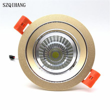 DHL Free shipping LED downlight lights High quality 7W / 10W /15W /20W LED light indoor lamp AC230V Bulb lamp kitchen led lights free shipping 2016 new electric led micromotor brushless led light source system fits nsk nlx nano inner water spray kavo dhl