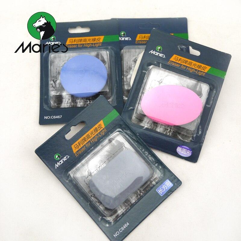 5Pcs Marie's High Light Art Eraser Sketch Paper Pen Rub Clean Sketch Erasers Rubber Borracha Escolar Art Supplies Randomly Color