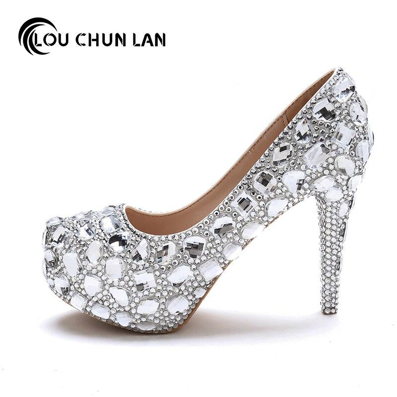 7cm Mariée Blanc De 5cmwater Sandales Cristal Pointed Hauts 3 Pompes Talons Chaussures Doux Mariage Photo Femmes A Heel Toe Femelle Tableau 14cm qXngxHBgvw