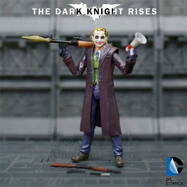 e2386cf81b84 DC Movie Joker 15cm Action Figure Batman The Dark Knight Rises Heath Ledger  5