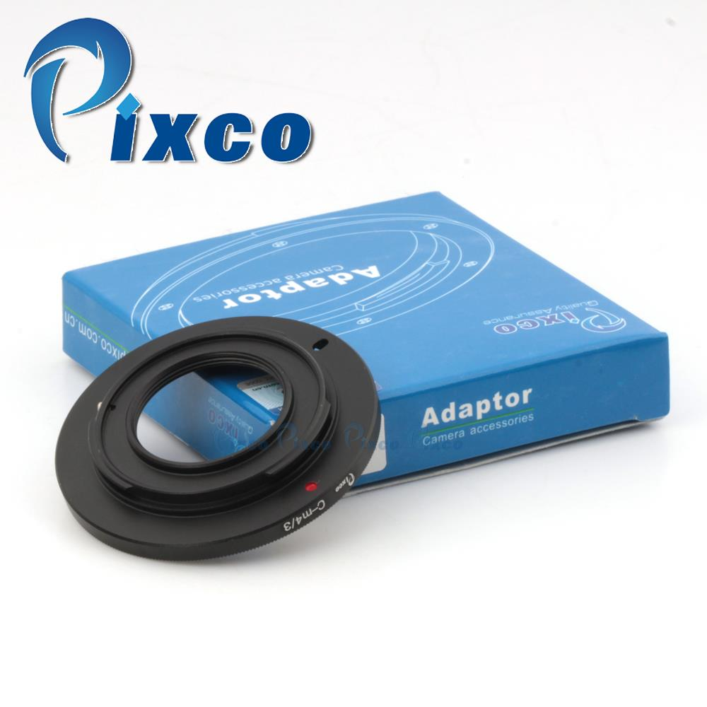 Pixco Lens Adapter Ring Suit For 16mm C Mount Movie Lens to Micro4/3 m4/3 E-M5 OM-D GF5 E-PM2 E-PL5 GH3 G3 GF3 GF2 GH2 GF1 G10
