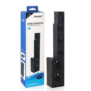 Image 5 - DOBE PS4 Pro ventilateur de refroidissement externe 5 ventilateur de refroidissement Super Turbo température refroidissement USB câble pour Playstation 4 Pro Console de jeu