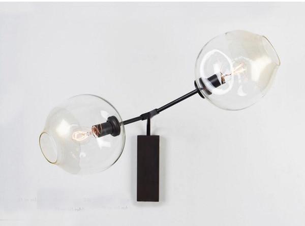 Applique lampada da parete curvo cm moderno ceramica effetto