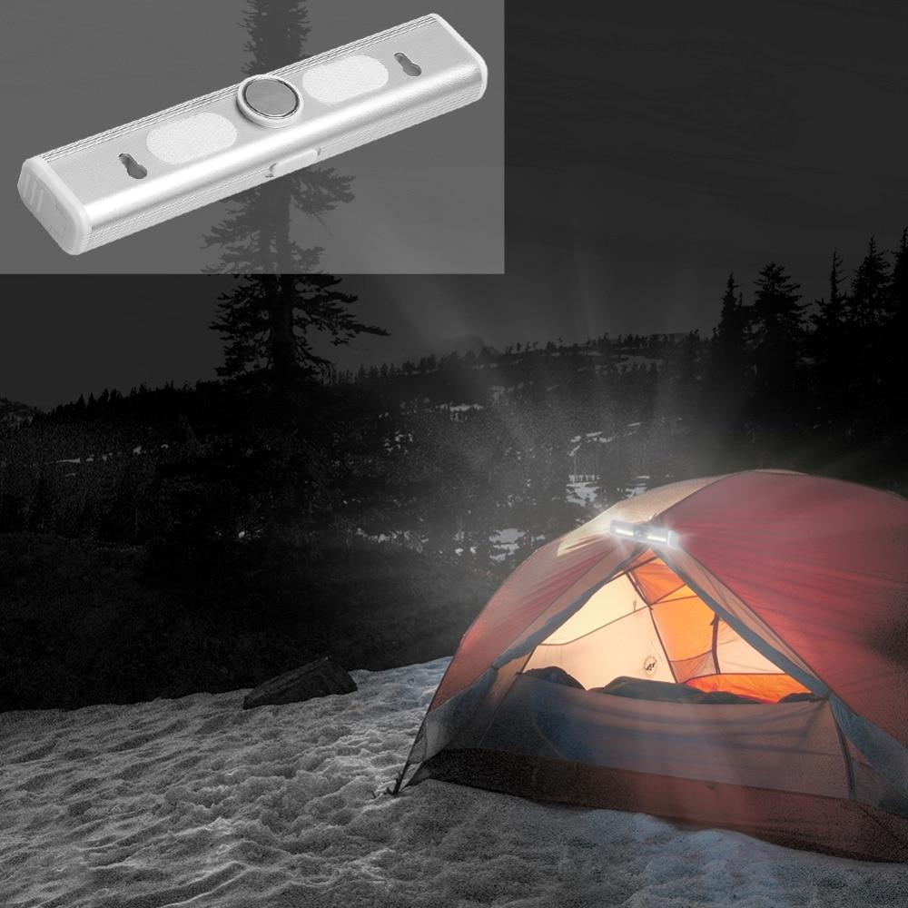 PANYUE 10 stücke LED Unter Kabinett Licht Motion Sensor Lampe beleuchtung für Schrank Schrank Schrank Küche nacht licht magnet - 6