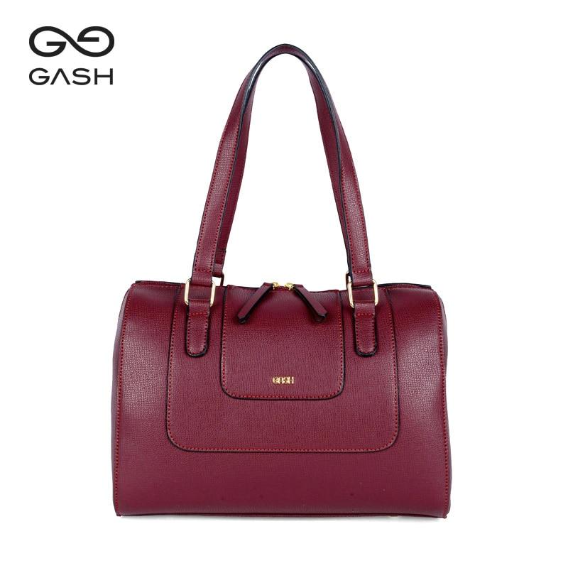 03e6c1f9f Gash designed brand Boston women shoulder bags classic Lock Retro PU handbag  female large capacity Bolsa brazili local delivery