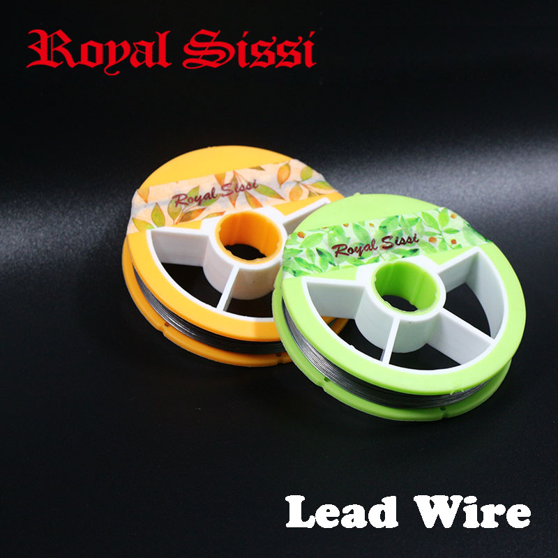 Royal Sissi 1spool Dia 0.5mm Or 0.8mm Round Lead Wires Ultra Soft Fly Tying Lead Wire To Weight Flies Spooled Metal Wire Thread