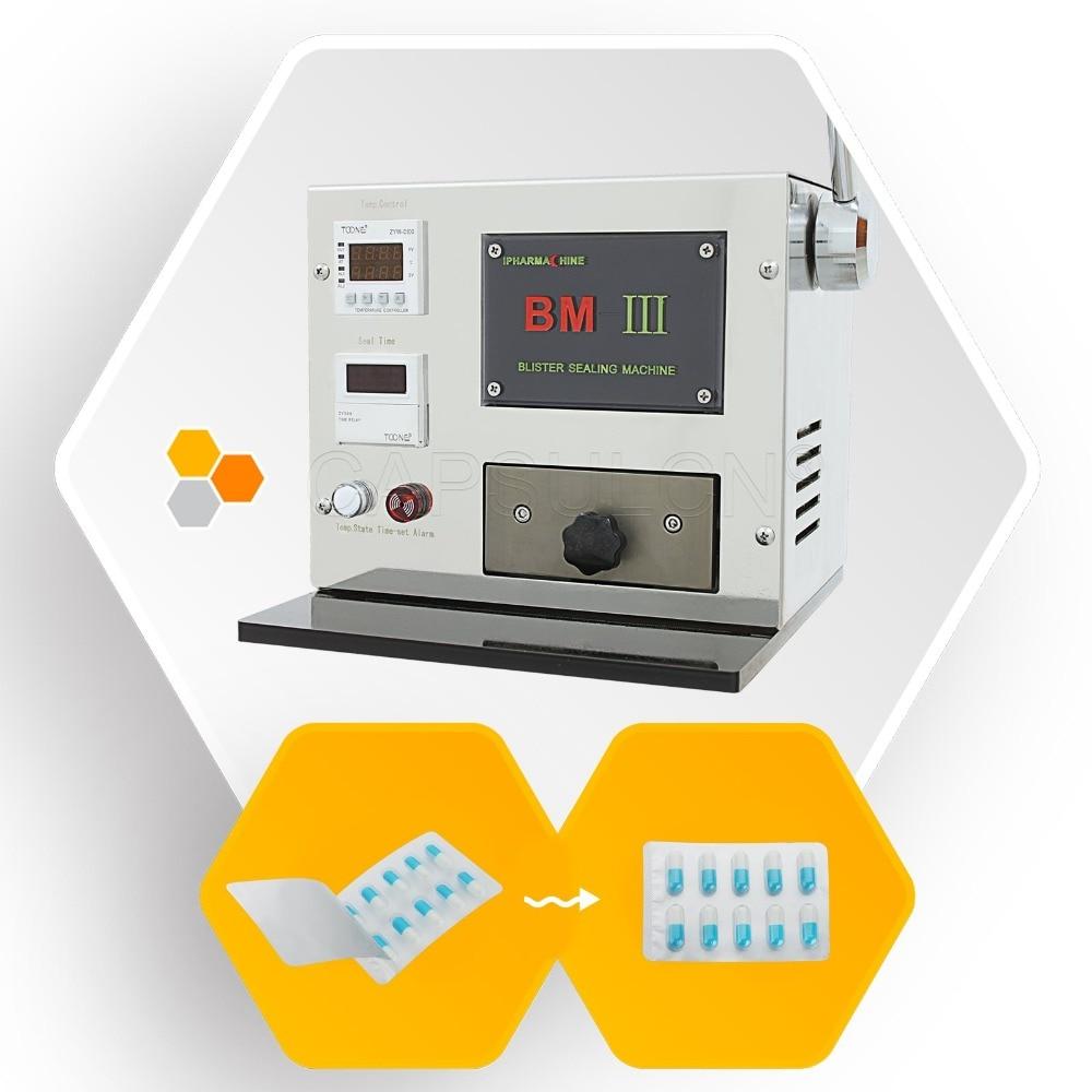Pro Mini manual Blister Maker, Suitable for All Capsule Size,Hospital HealthcareBlister Sealing,Capsule Machine (110V 60HZ)  сортер botton pro 60 manual 517469 blanco