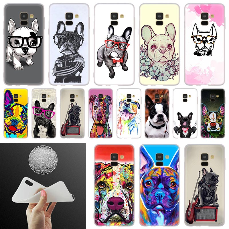 <font><b>dog</b></font> american bulldog <font><b>Phone</b></font> <font><b>Case</b></font> For <font><b>Samsung</b></font> <font><b>Galaxy</b></font> A10 A20 A30 A40 A50 A60 A70 A6 A8 Plus A7 A9 2018 <font><b>A3</b></font> A5 <font><b>2017</b></font> Soft Cover Coque image