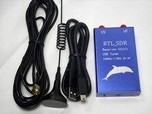 Nouvelle Version du logiciel 100 KHz 1.7 GHz UV HF pleine bande récepteur de RTL SDR radio RTL2832 + R820T2 tuner usb